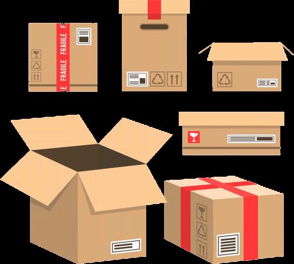 упаковка коробка