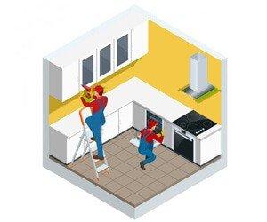 перевозка кухонного гарнитура киев