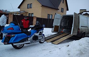 перевозка мотоцикла киев